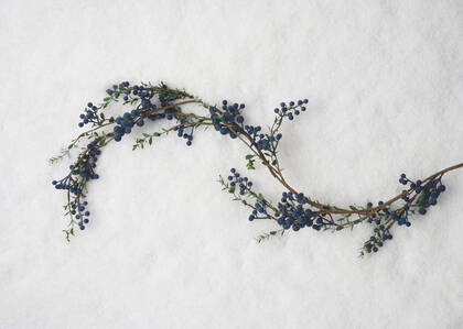 Afina Blueberry Garland
