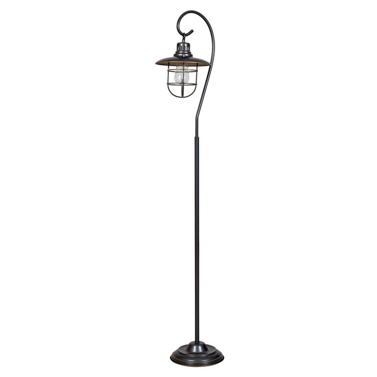Lanterna Bronze Floor Lamp