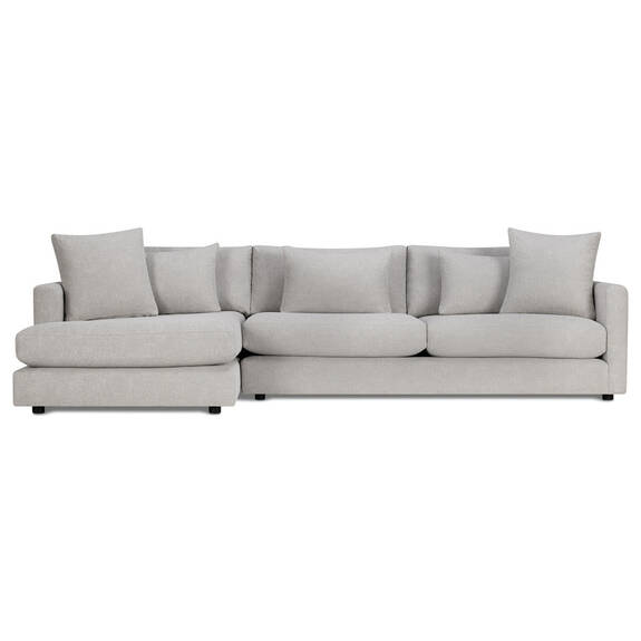 Berg Sofa Chaise -Aiden Platinum