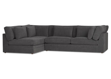 Antonio Sectional -Gilligan Fog, LCF