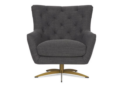 Thurlow Swivel Chair -Union Slate