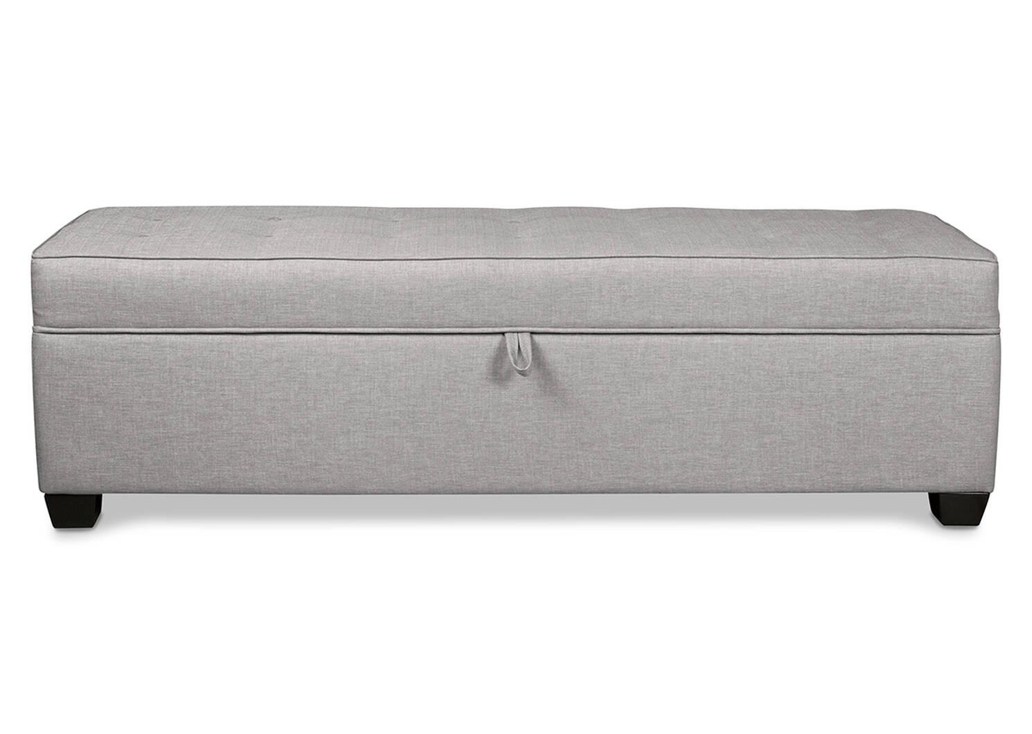 "Vault Custom Storage Ottoman 40x18"""