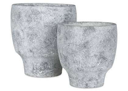 Cache-pots Adonia cailloux