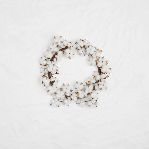 Blanche Cotton Wreath
