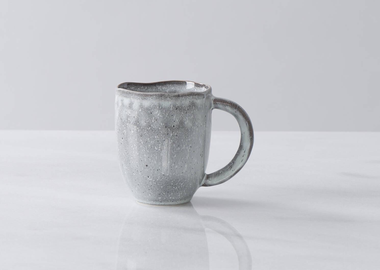 Tasse avec glacis Crofton gris foncé