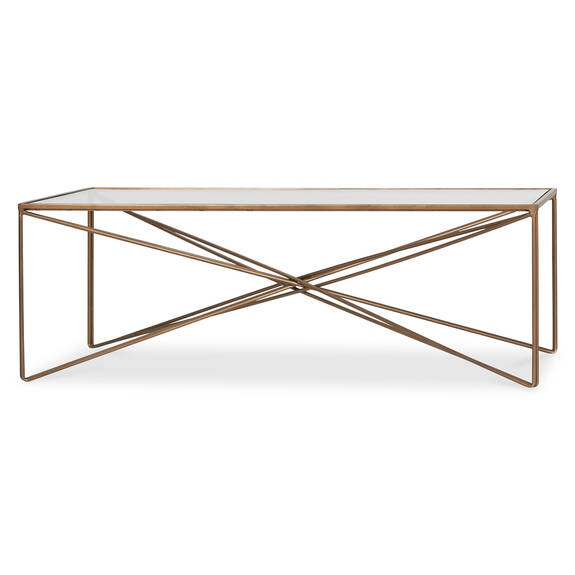 Table basse Nebula -laiton
