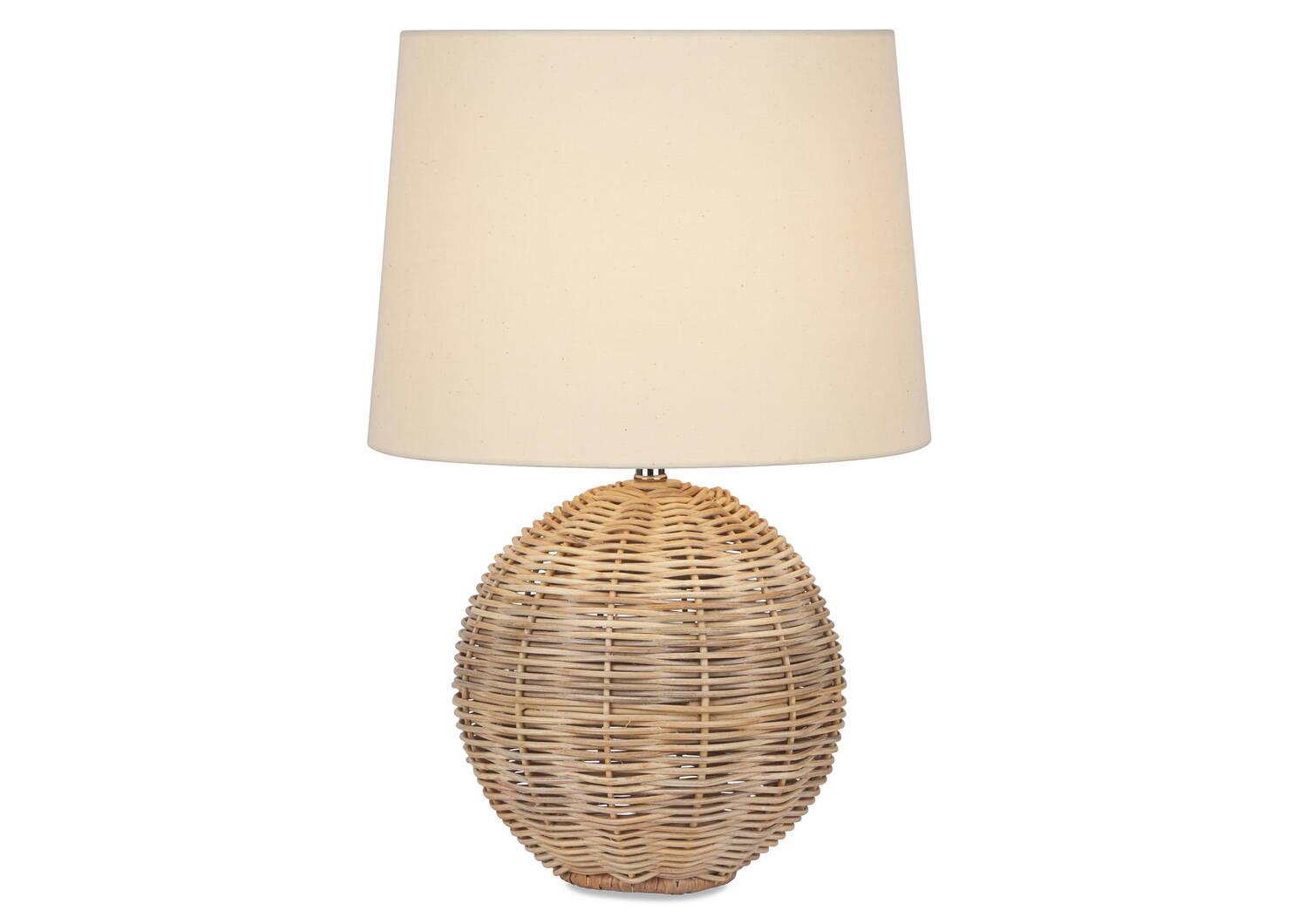 Noor Rattan Table Lamp