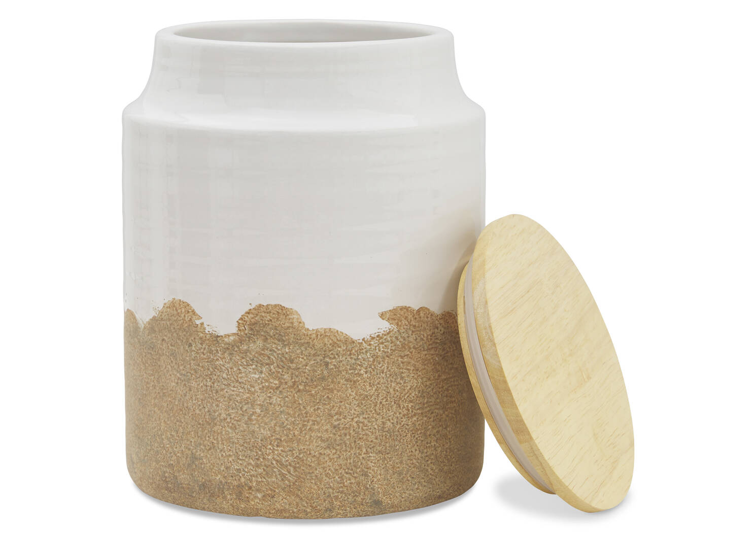 Vanna Canisters - Milk/Natural
