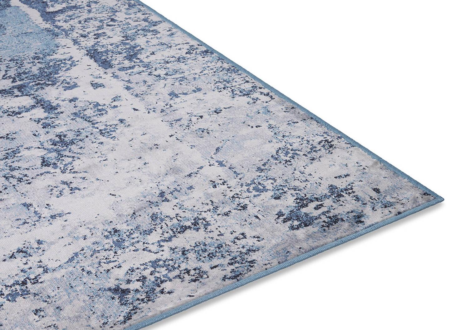 Lariviere Rug 67x95 Grey/Blue