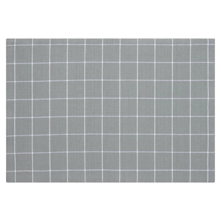 Westport Plaid Placemat Pebble/White