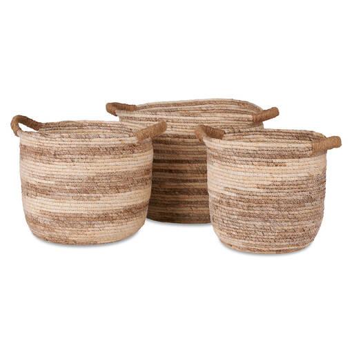 Isidora Basket Large Seagrass