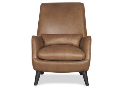 Largo Leather Armchair -Mira Rum