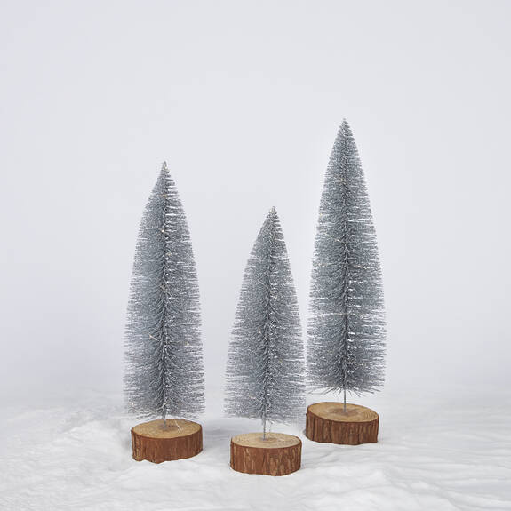 Twinkle Trees LED - Silver