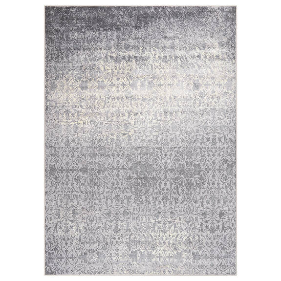 Tapis Rousseau 67x95 ivoire/gris