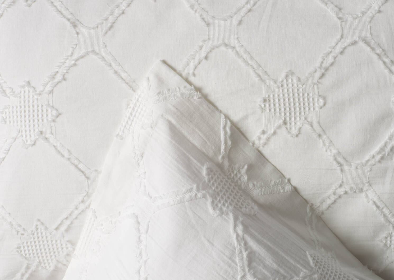 Lindsey Duvet Sets White