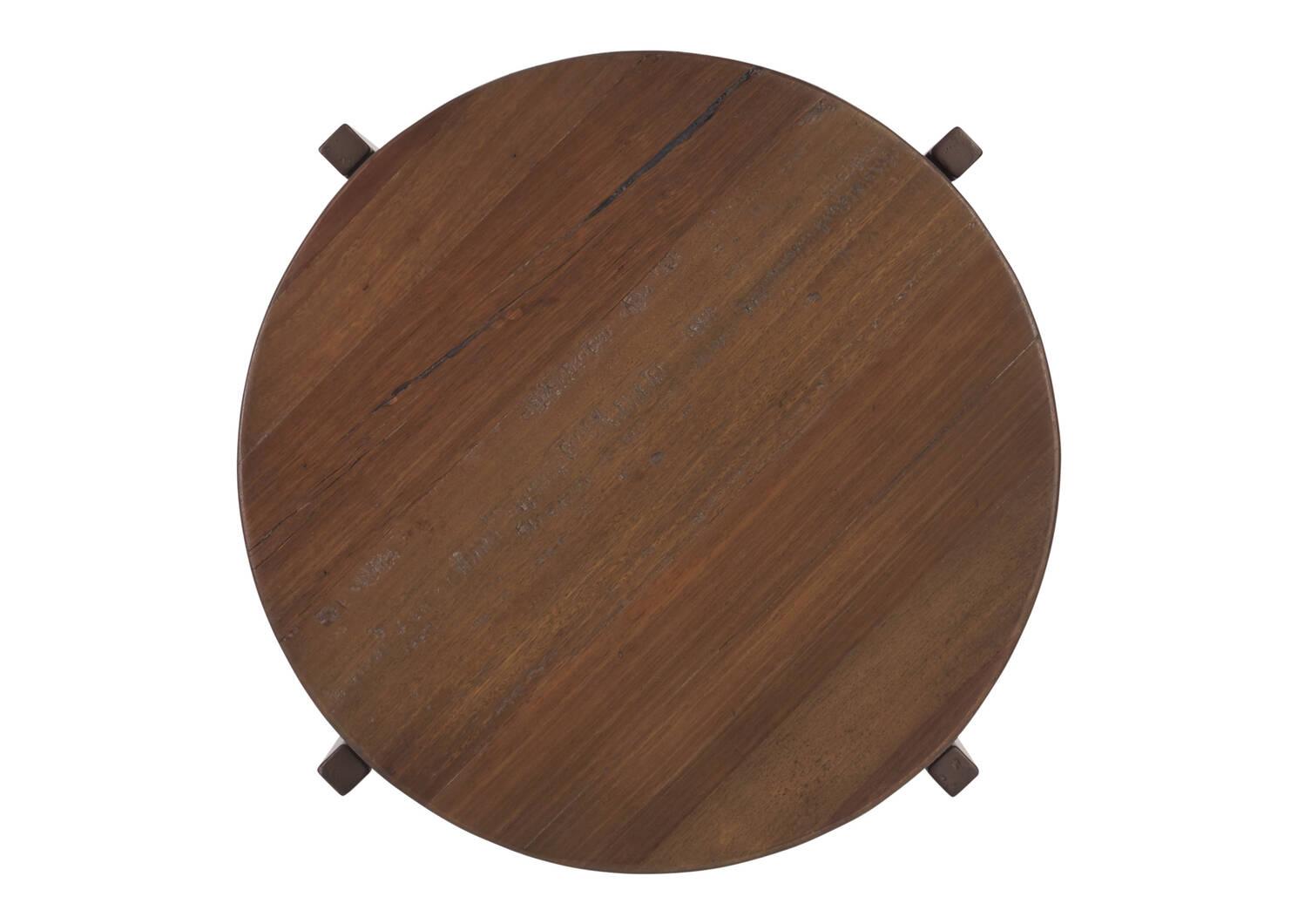 Atwell Side Table -Lowry Nutmeg