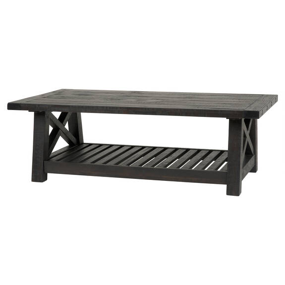 Table basse Ironside -café