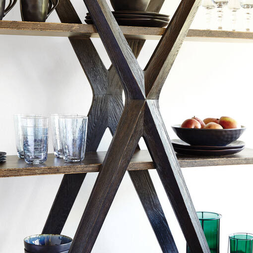 Century Display Shelf -Anson Oak