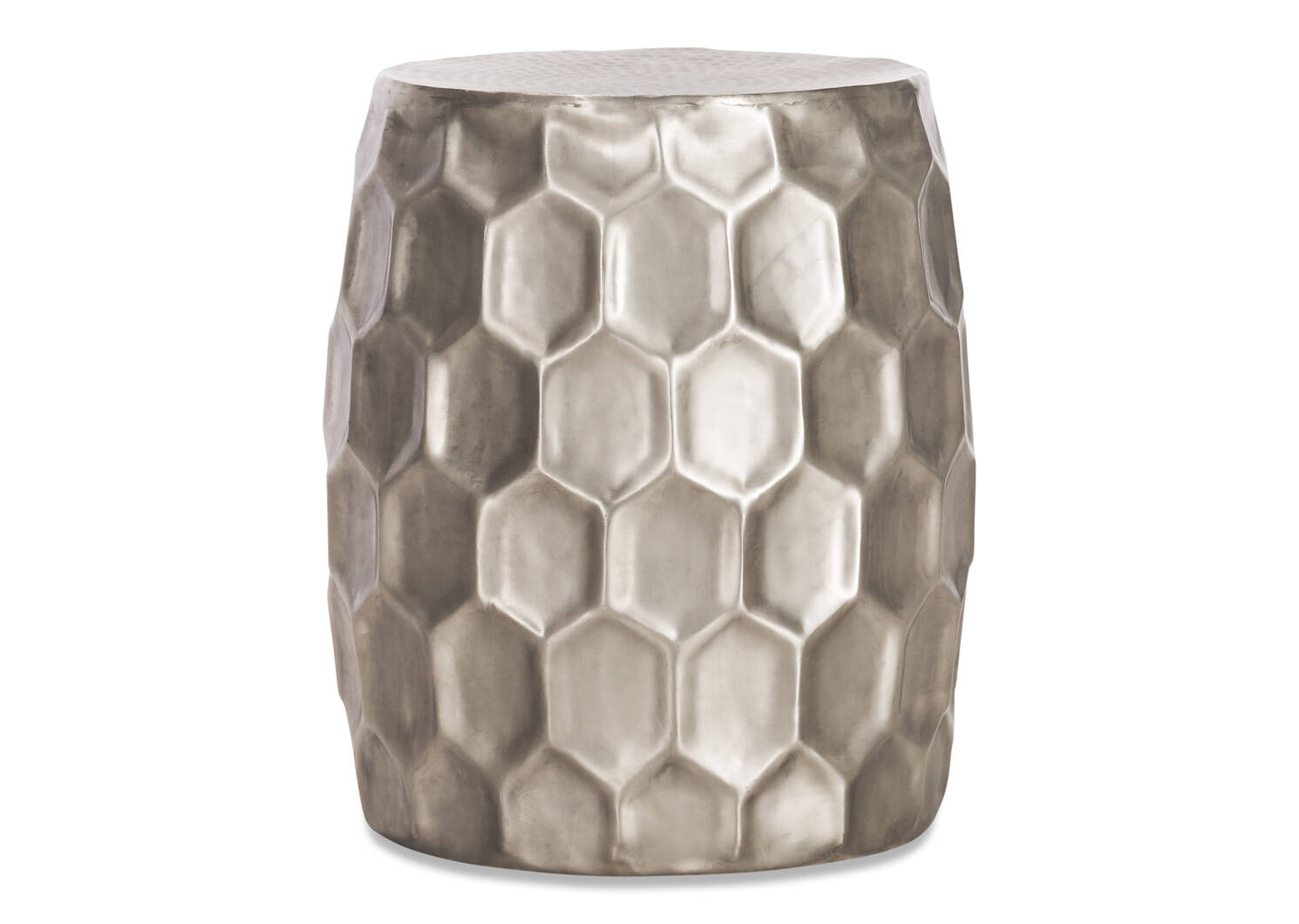 Quincy Side Table -Nickel