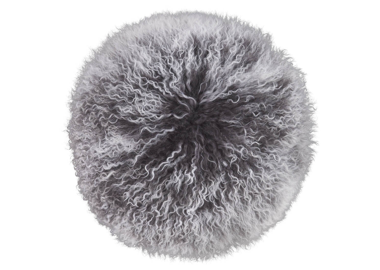 Mongolian Snowy Round Toss 16x16 Cobble