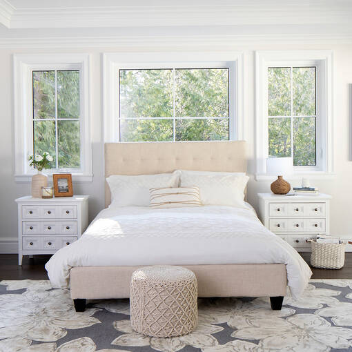 Spencer Bed -Polo Grey