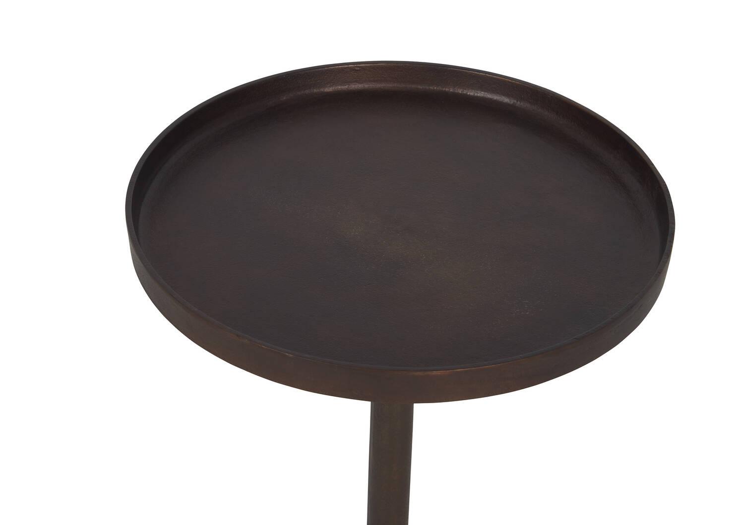 Table d'appoint Brockton -laiton