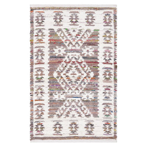 Marchant Accent Rug - Blush/White