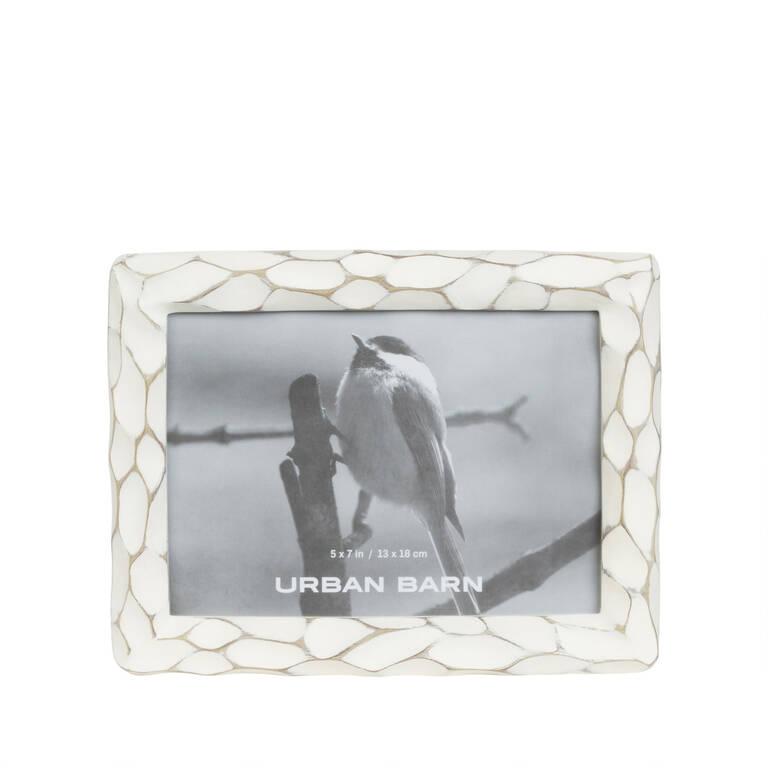 Kempton Frame 5x7 Antique White