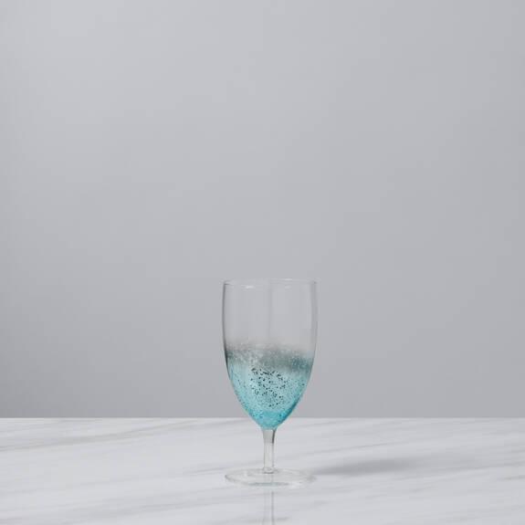 Shimmer Goblet Aqua