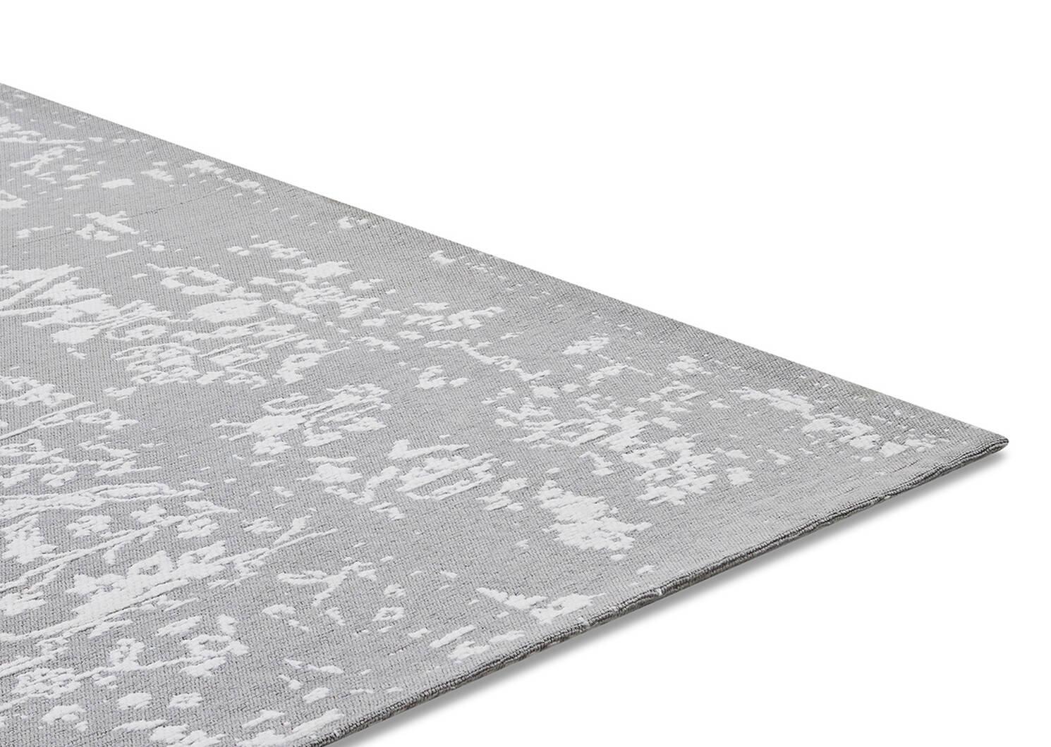 Fontana Rug 96x120 Grey/White