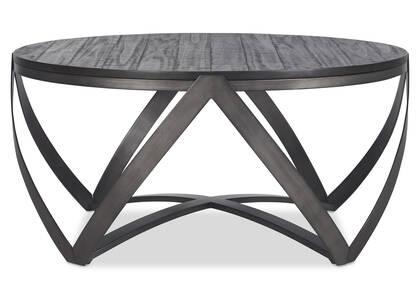 Table basse Argyle -Reviv charbon