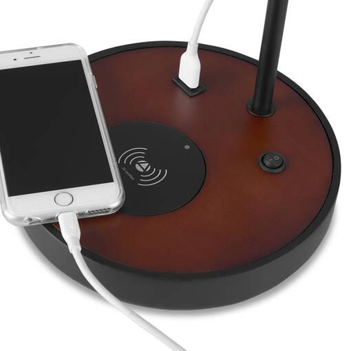Edrie Charging Table Lamp