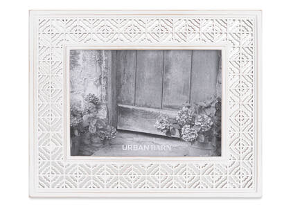 Cadre Raelynn 5x7 blanc