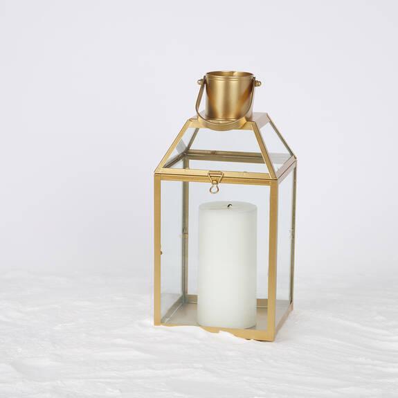 Monserrat Lantern Large Gold