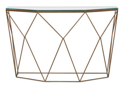 Table console Stella -fini laiton