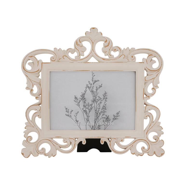 Lillianna Frame Hor. 5x7 Antique White