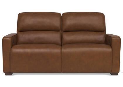 Canapé inclinable cuir Reese -Arlo rhum