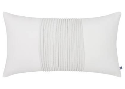 Coussin Noa 12x22 blanc
