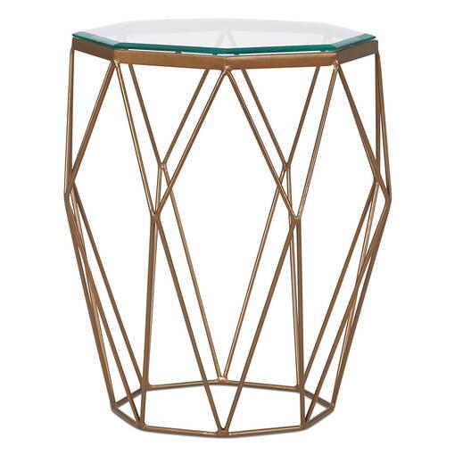 Stella Side Table -Brass
