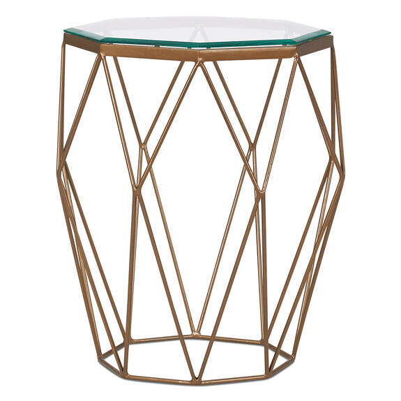 Stella Side Table -Brass