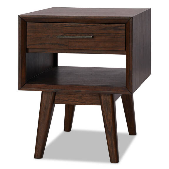Bowen Side Table -Miller Brown