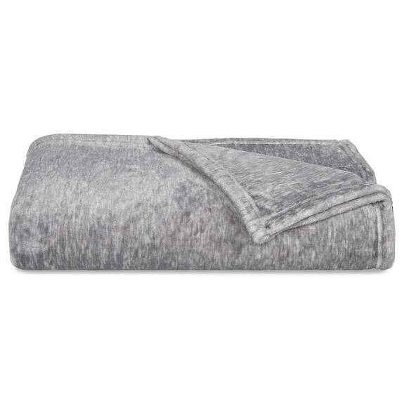 Cozy Lux Throw Silver Grey Multi