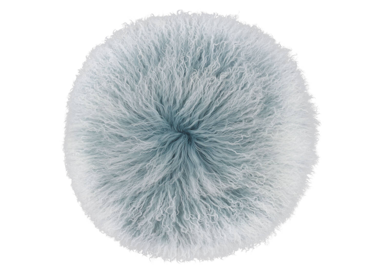 Mongolian Snowy Round Toss 16x16 Pacific
