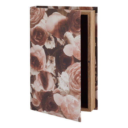 Rosamund Book Box Medium Pink