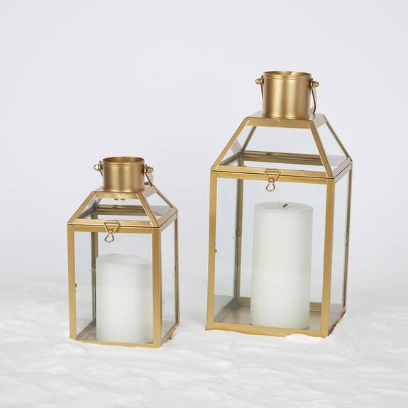 Lanternes Monserrat -dorées