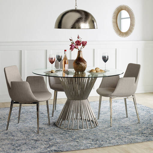 Lynd Dining Chair -Ash Grey