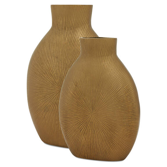 Zuri Vases Brass