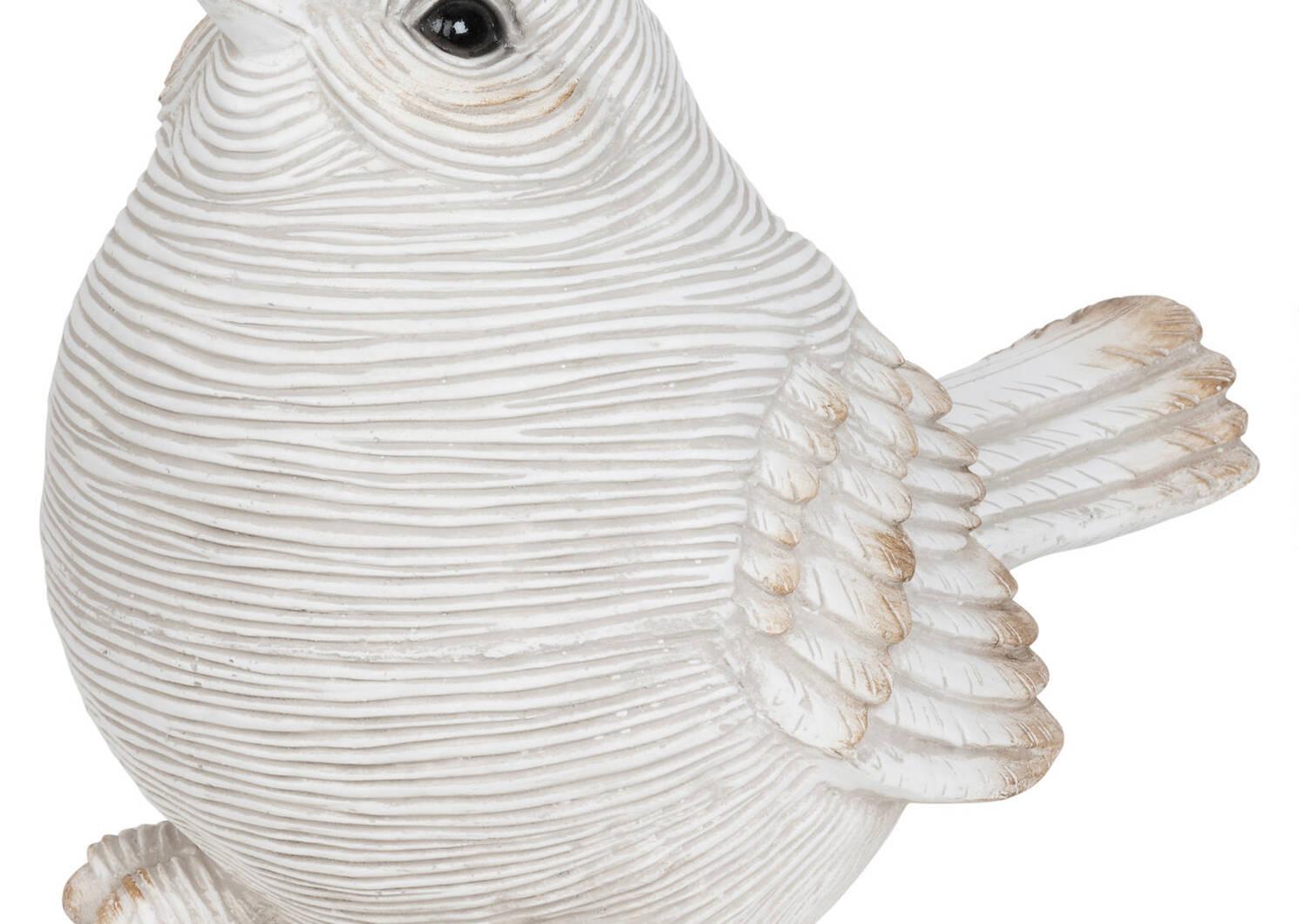 Statuette oiseau tête relevée Getty