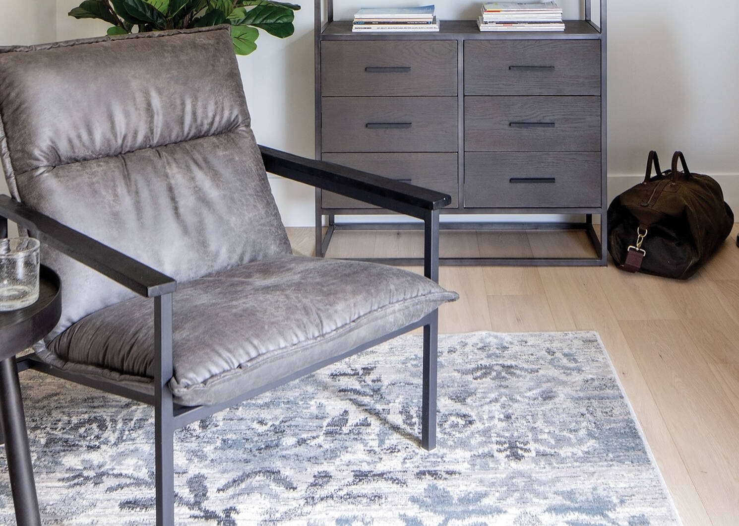Alpen Rug - Ivory/Grey