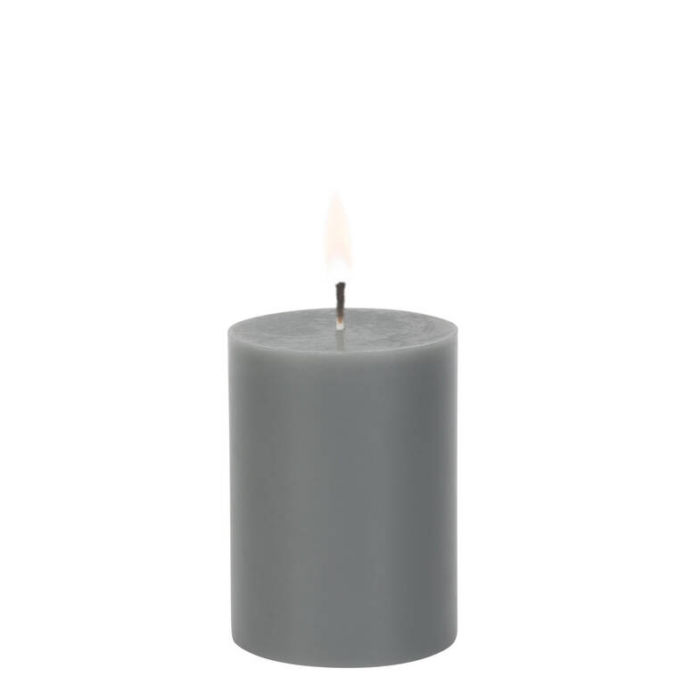 Cassa Candle 3x4 Grey Unscented